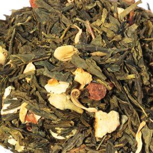 Sencha sinaasappel thee