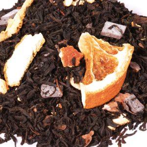 Sinaasappel-Chocolade thee