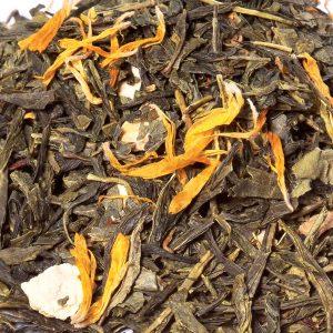 Sinaasappel Gember thee