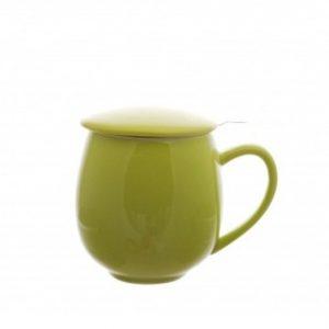 Theemok met filter groen