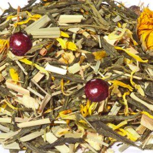 Cranberry jasmijn groene thee