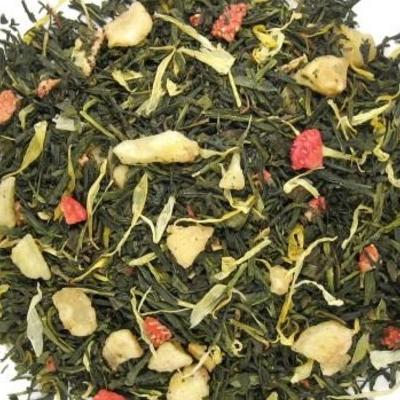 Banaan Aardbei Groene thee